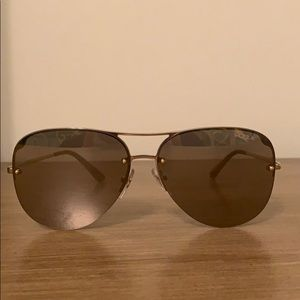 Vogue aviator women's sunglasses